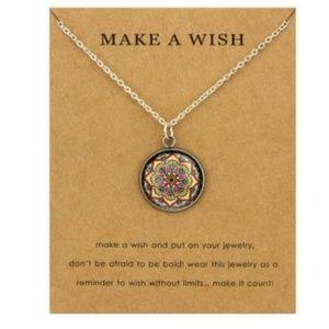 Jewelry - Mandela Yoga Boho Buddhism Pendant Necklace